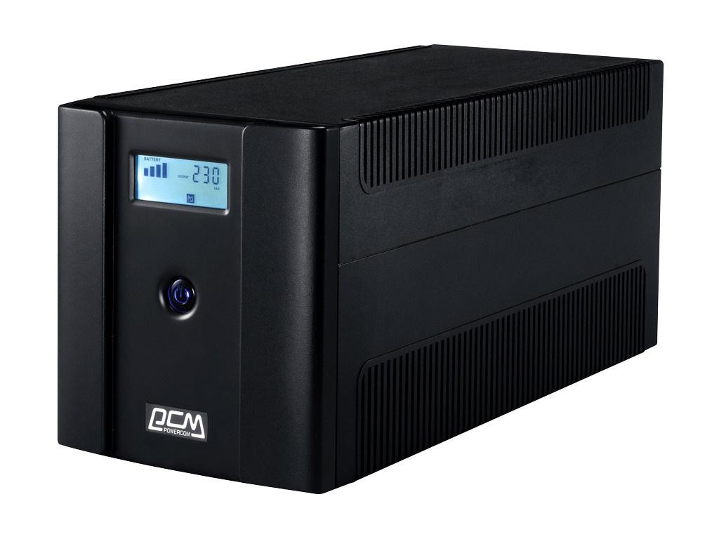 Фото - Источник бесперебойного питания Powercom Raptor RPT-1500AP LCD источник бесперебойного питания powercom raptor rpt 1000ap euro