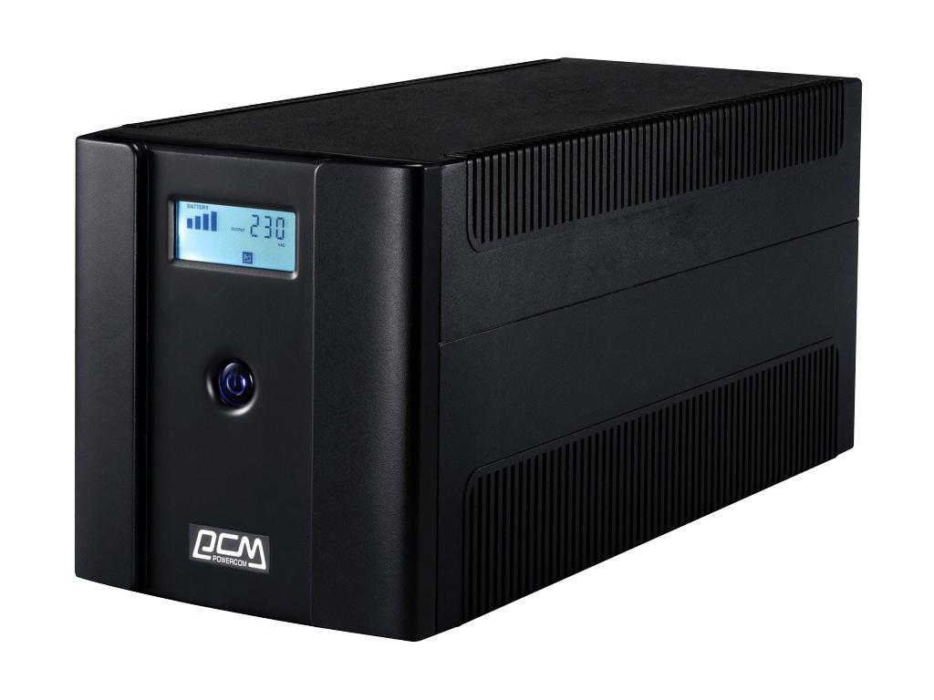 Фото - Источник бесперебойного питания Powercom Raptor RPT-1500AP LCD Euro источник бесперебойного питания powercom raptor rpt 1000ap euro
