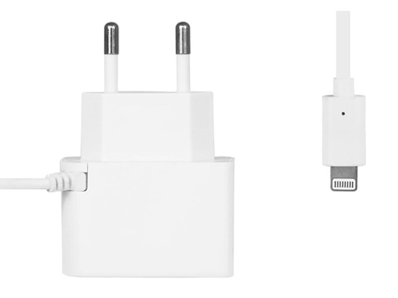 Зарядное устройство Ainy EA-H013 USB 2A White for iPhone