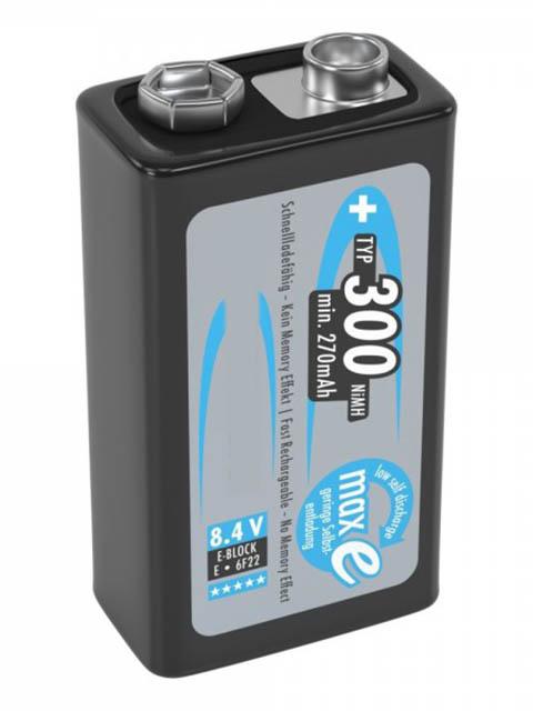 Аккумулятор Крона - Ansmann MaxE 300 mAh SR1 (1 штука) 5035451