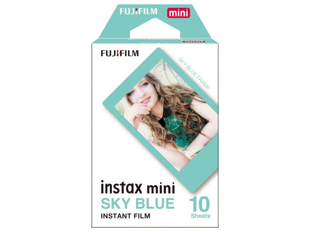 Купить Fujifilm Instax Mini Blue Frame 16537055, Япония