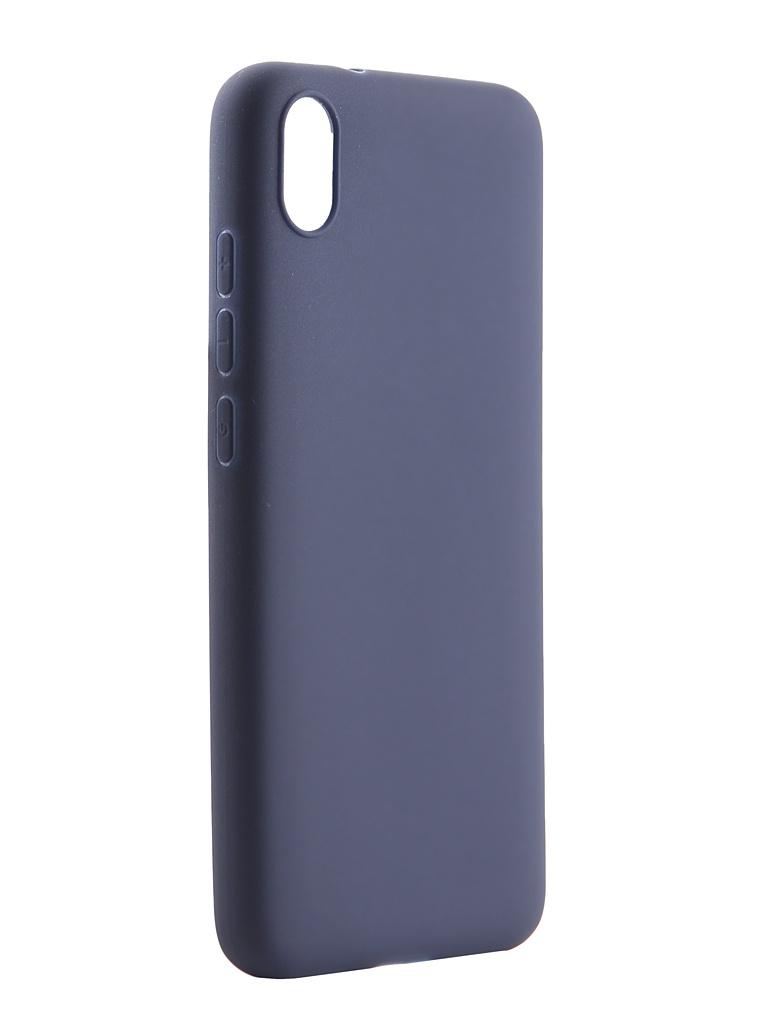 Купить Аксессуар Чехол Pero для Xiaomi Redmi 7A Soft Touch Blue CC01-R7ABL