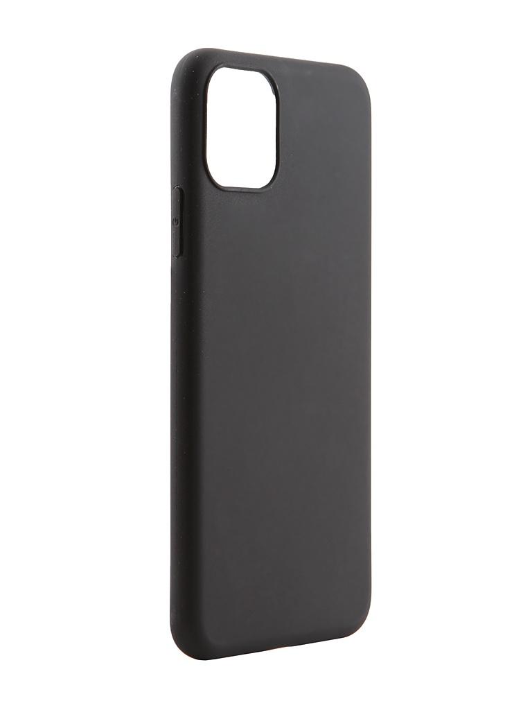 Чехол Pero для APPLE iPhone 11 Pro Max Soft Touch Black CC01-I6519B