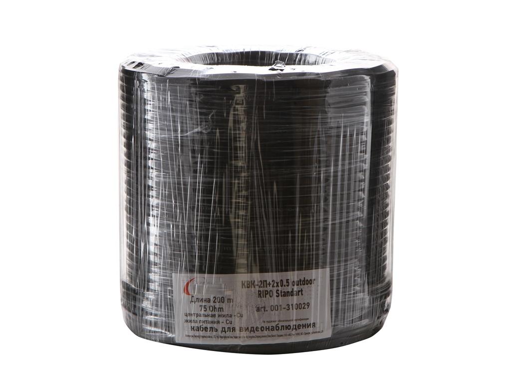 Сетевой кабель Ripo КВК-2П+2x0.5 Cu Outdoor Standart 200m 001-310029