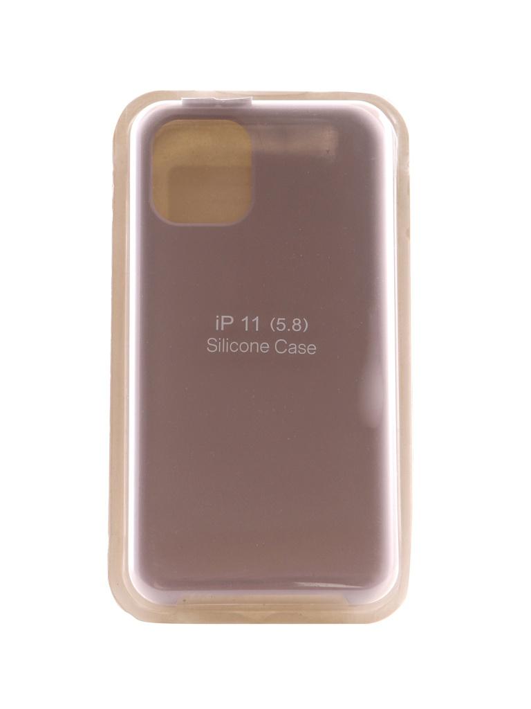 Купить Аксессуар Чехол Innovation для APPLE iPhone 11 Pro Silicone Case Grey 16471