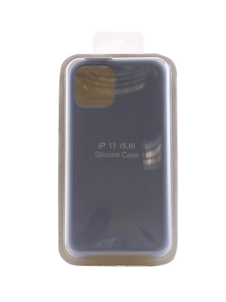 Купить Аксессуар Чехол Innovation для APPLE iPhone 11 Pro Silicone Case Light Blue 16435