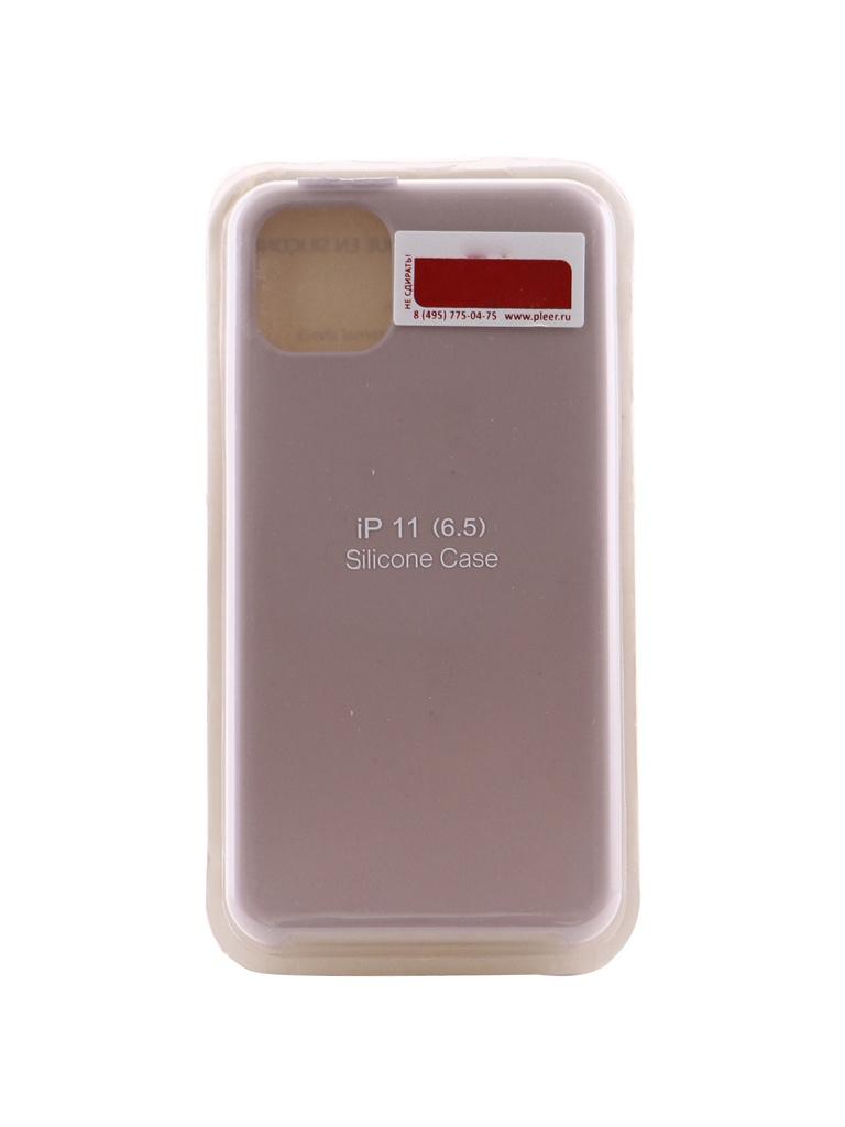 Купить Аксессуар Чехол Innovation для APPLE iPhone 11 Pro Max Silicone Case Grey 16477