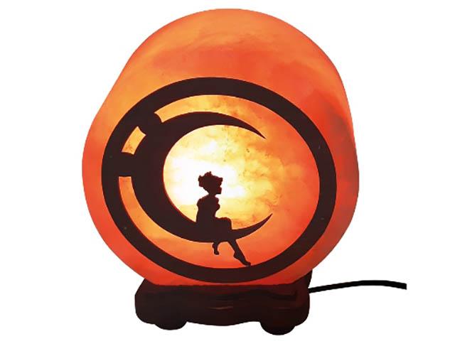 Купить Солевая лампа Wonder Life Круг- 5 Мальчик на луне 2-3кг SLL-12500