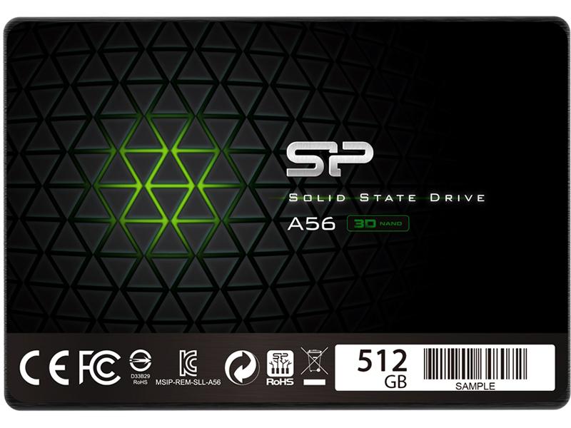 Твердотельный накопитель Silicon Power A56 512Gb SP512GBSS3A56A25