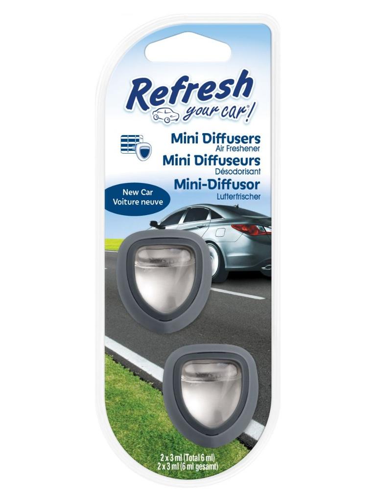 Освежитель воздуха автомобильный Energizer RYC Мини Диффузор Новая машина 2шт E301408400 / 37282