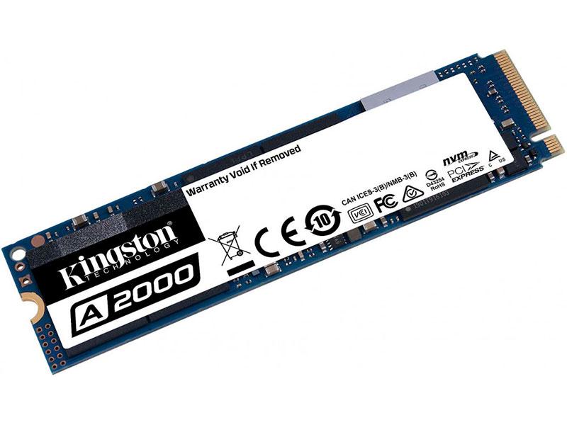 Твердотельный накопитель Kingston A2000 SSD 500Gb SA2000M8/500G