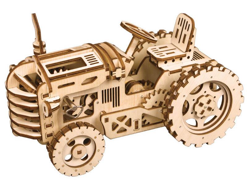 Конструктор DIY House Трактор с механическим заводом LK401