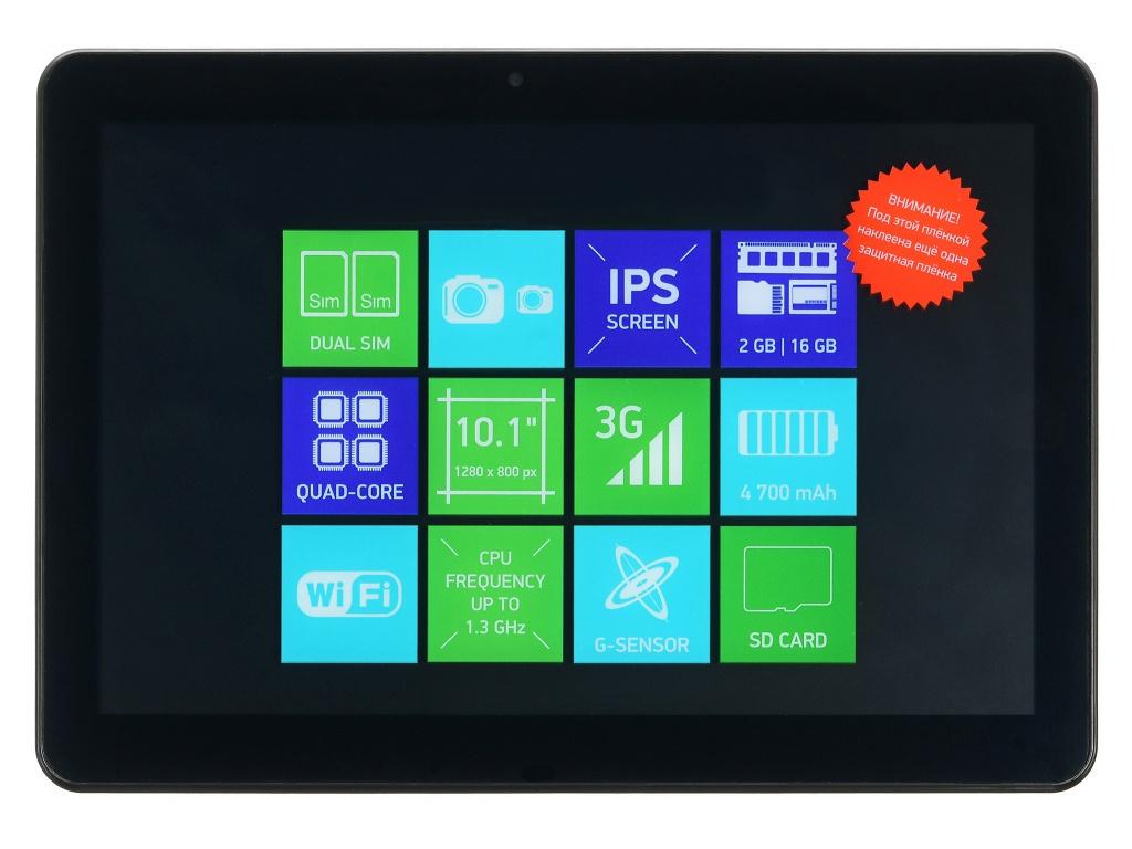 Фото - Планшет Digma Citi 1590 3G Black (MediaTek MTK8321 1.3Ghz/2048Mb/16Gb/Wi-Fi/3G/Bluetooth/GPS/Cam/10.1/1280x800/Android) планшет digma optima 1026n tt1192pg spreadtrum sc7731g 1 3 1gb 16gb 10 1 1024x600 tn 3g gps 2mp 0 3mp android 7 0 black
