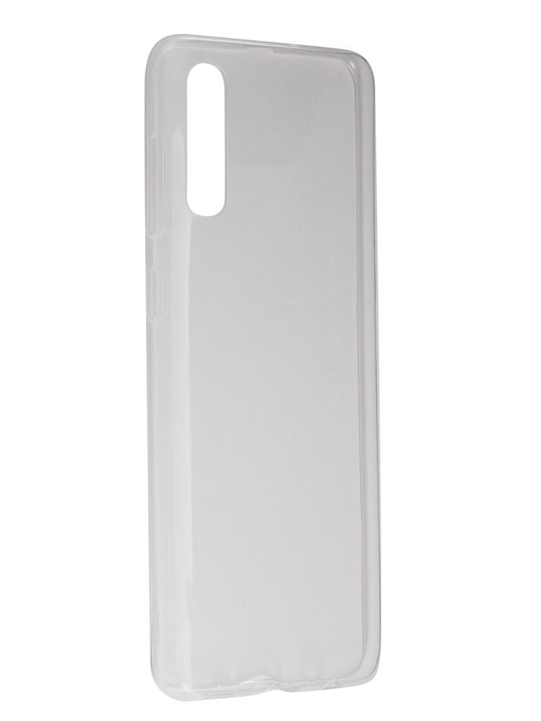 Чехол Svekla для Samsung Galaxy A30s A307F Silicone Transparent SV-SGA307F-WH