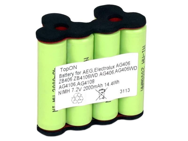 Аккумулятор TopON AEG Rapido TOP-AEG-7.2