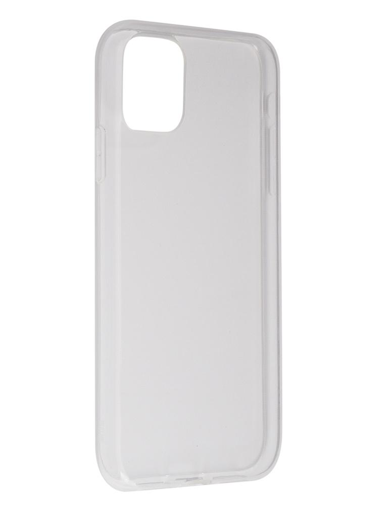 Чехол Svekla для APPLE iPhone 11 Silicone Clear SV-AP11-WH