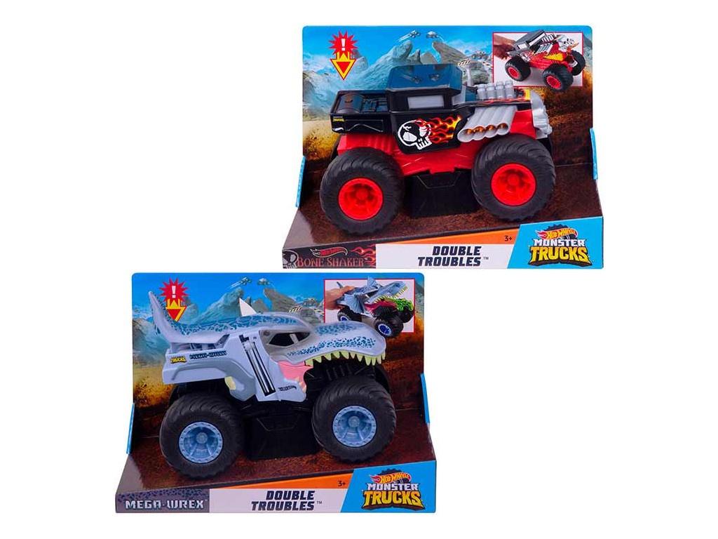 Купить Игрушка Mattel Hot Wheels Монстр трак трансформеры GCG06 ()
