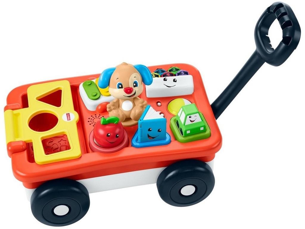 Купить Игрушка Mattel Fisher-price Тележка Ученого Щенка GHV18