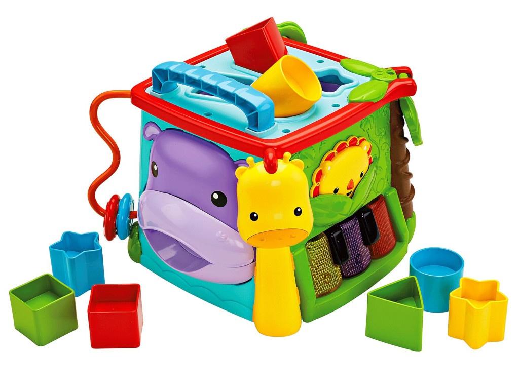 Купить Игрушка Mattel Fisher-price Игровой куб GHT89