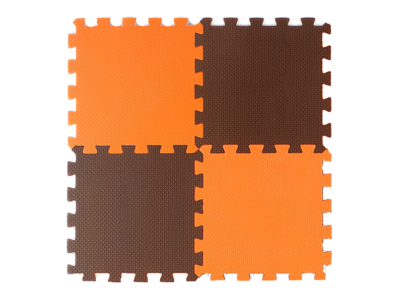 Купить Развивающий коврик Экопромторг Мягкий пол универсальный Orange-Brown 25МП1/4