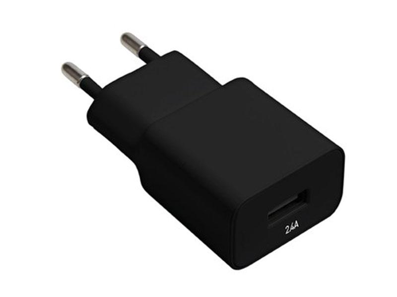 Зарядное устройство Exployd Classic 2.4A USB Black EX-Z-444