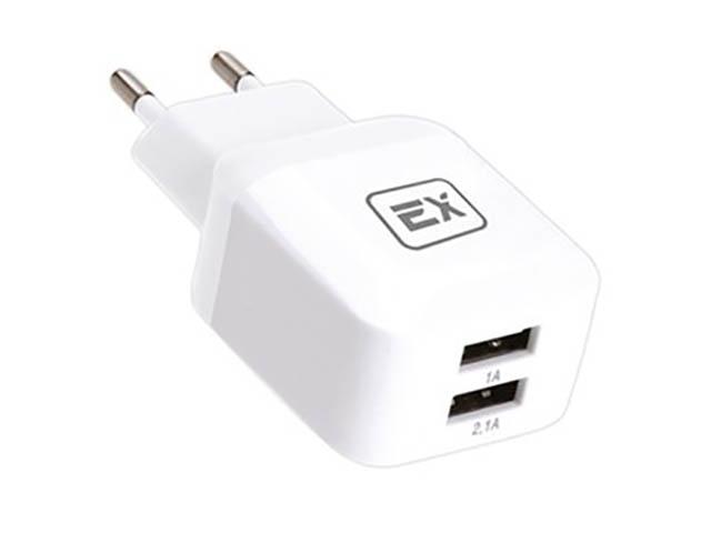 Зарядное устройство Exployd Classic 3.1A 2хUSB White EX-Z-613