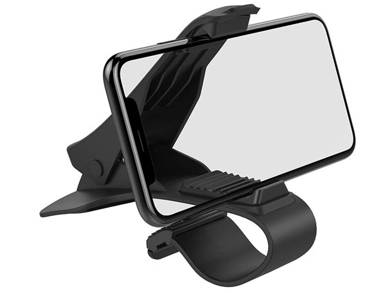 Держатель Hoco CA50 In-Car Dashboard Phone Holder Black держатель hoco ca35 plus auto induction wireless fast charging in car phone holder black