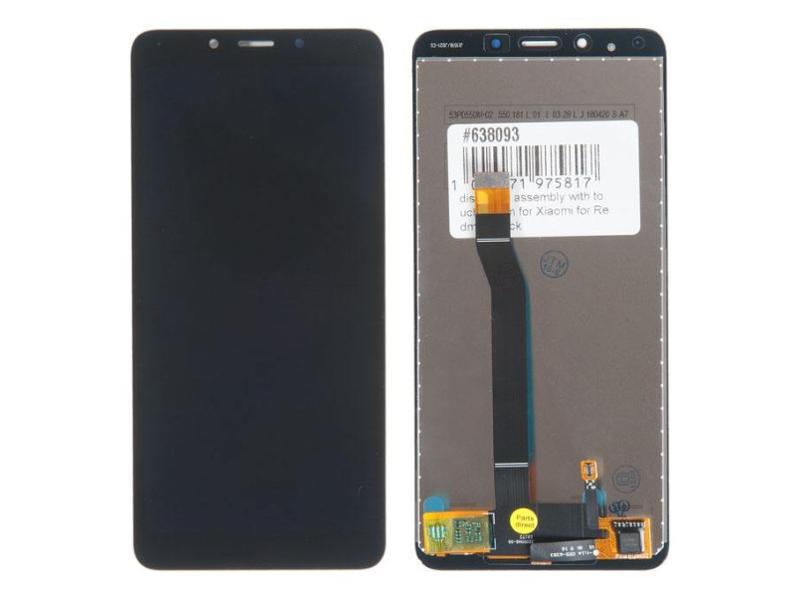 Купить Дисплей RocknParts для Xiaomi Redmi 6 / 6A в сборе с тачскрином Black 638093