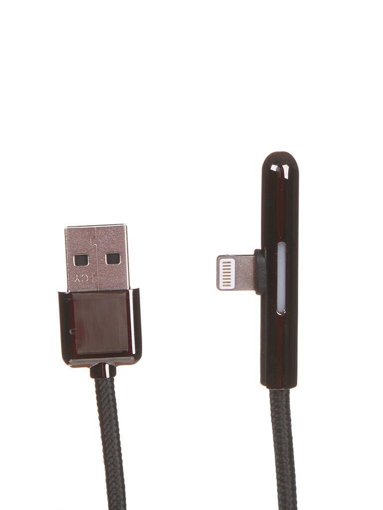 Фото - Аксессуар Baseus Iridescent Lamp Mobile Game Cable USB - Lightning 1.5A 2m Black CAL7C-B01 бра настенный светильник arte lamp domain a9521ap 1ab