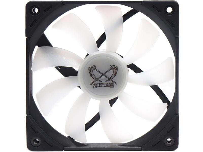 Вентилятор Scythe Kaze Flex 120mm Slim RGB PWM Fan 1800rpm KF1215FD18R-P