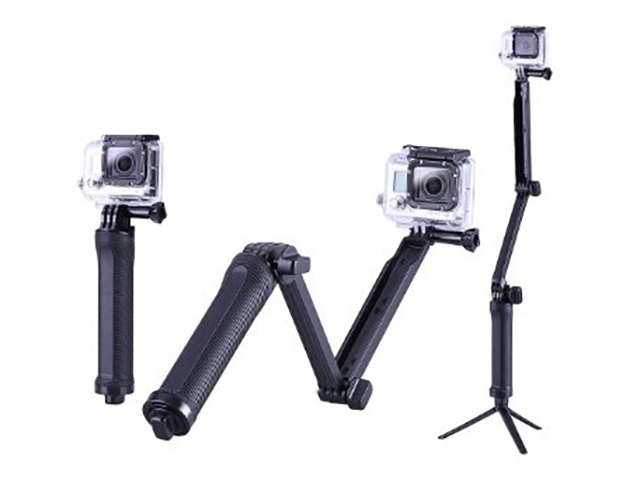 Аксессуар Монопод-штатив Lumiix для GoPro ,SJCAM, Xiaomi, Xi Mijia 3-Way