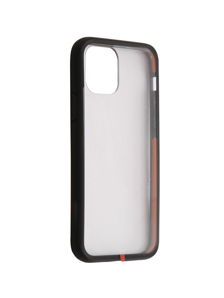 Купить Аксессуар Чехол Hardiz для APPLE iPhone 11 Pro ShockProof Case Transparent-Black HRD822105