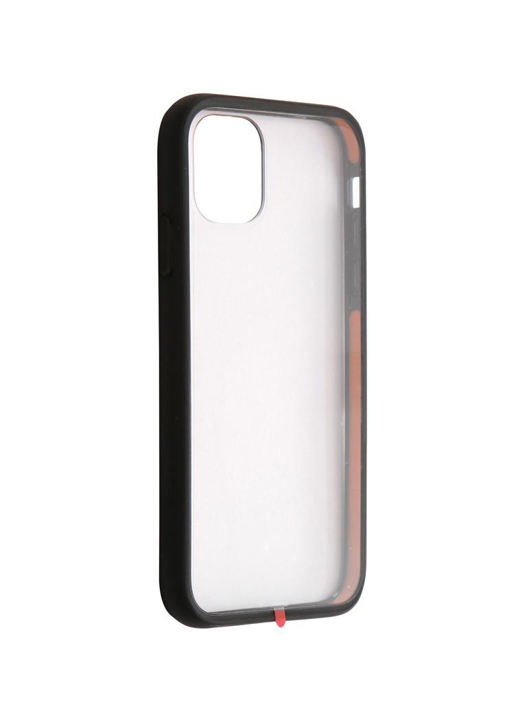 Купить Аксессуар Чехол Hardiz для APPLE iPhone 11 ShockProof Case Transparent-Black HRD822203