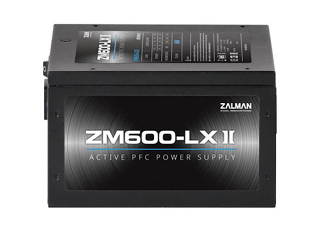 Блок питания Zalman ZM600-LXII 600W блок питания zalman 600w zm600 xe