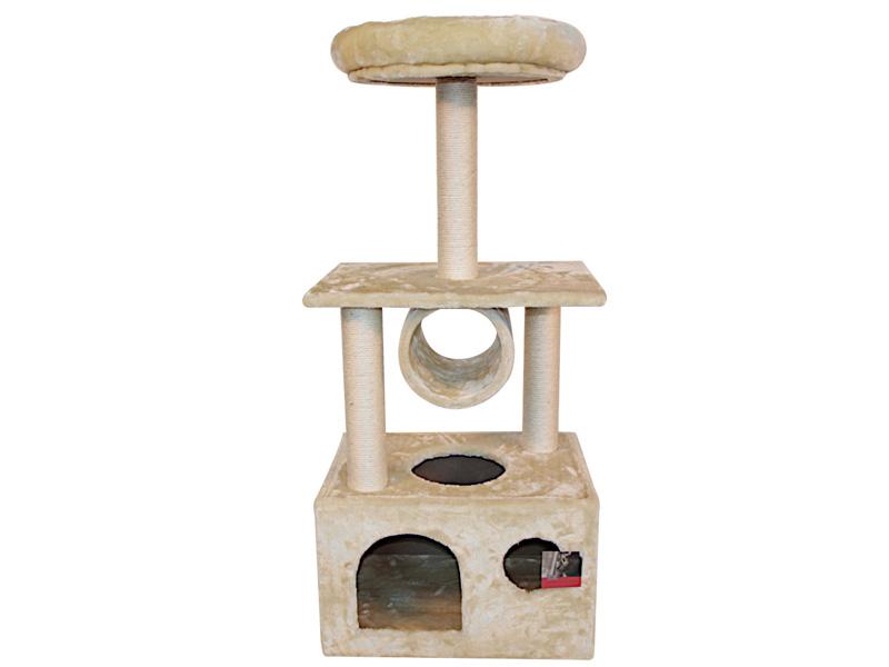 Когтеточка Pet Choice 50х35х116cm Beige SBE1418
