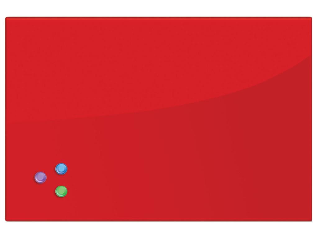 Доска магнитно-маркерная Brauberg 40x60cm Red 236746  - купить со скидкой