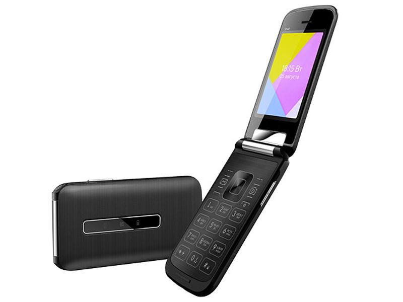 Сотовый телефон BQ 2816 Shell Black мобильный телефон bq 2816 shell gold