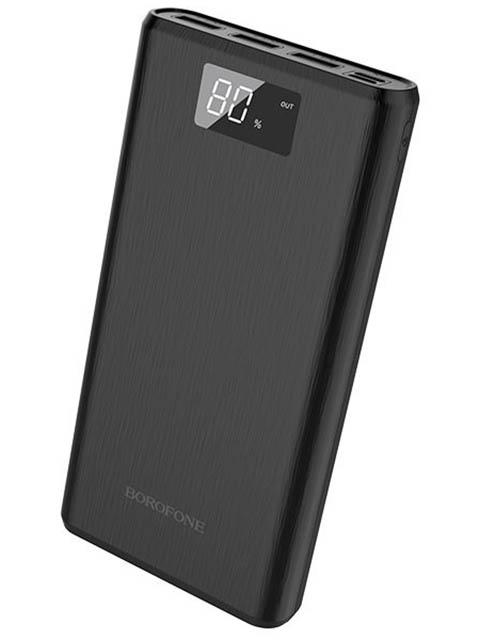 Внешний аккумулятор Borofone Power Bank BT2D Fullpower 30000mAh Black