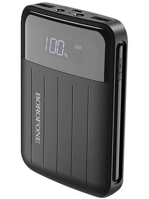 Внешний аккумулятор Borofone Power Bank BT21 Universal Energy 10000mAh Black