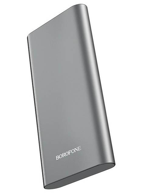 Внешний аккумулятор Borofone Power Bank BT19A Universal 15000mAh Metal Grey