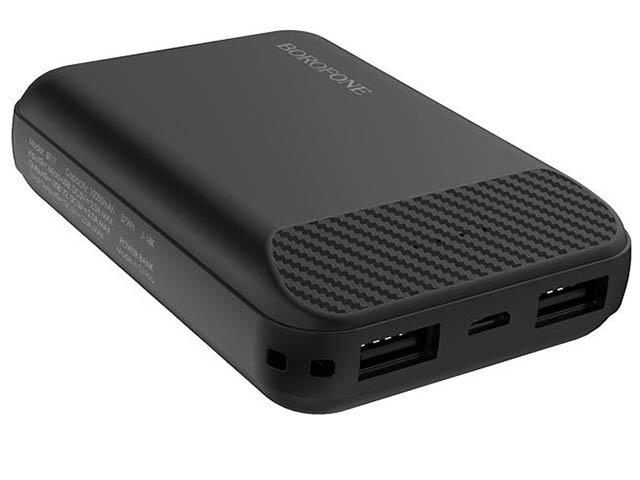 Внешний аккумулятор Borofone Power Bank BT17 RayPower Mini 10000mAh Black
