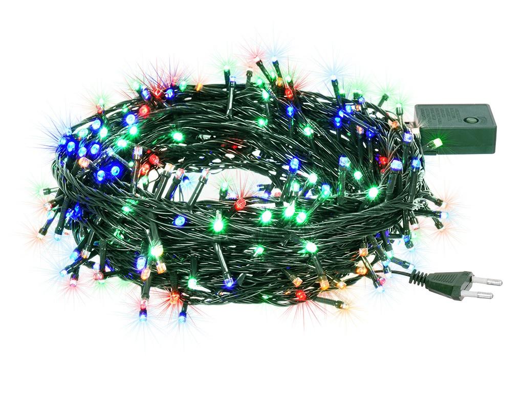 Гирлянда Vegas Нить 200 разноцветных светодиодов 20m 55067