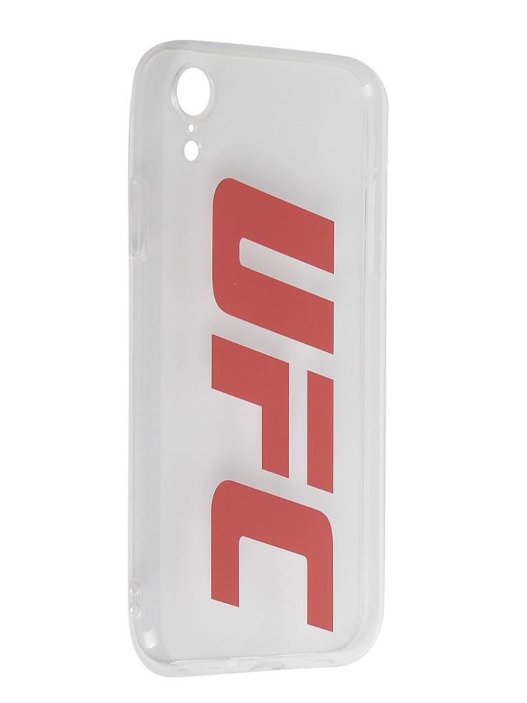 Купить Аксессуар Чехол Red Line для APPLE iPhone XR UFC Transparent УТ000019117