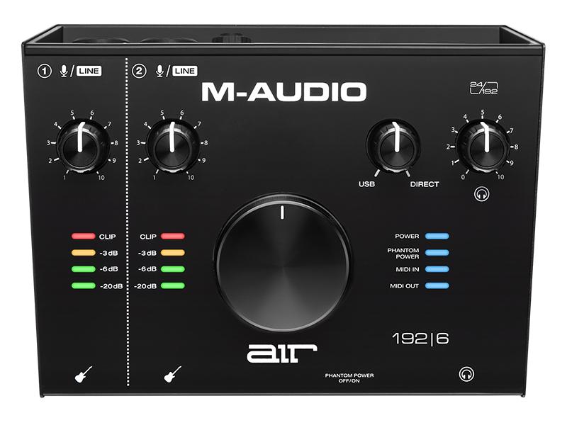 Фото - Аудиоинтерфейс M-Audio Air 192/6 контактные линзы alcon air optix aqua 6 шт r 8 6 d 01 00