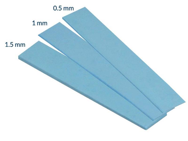 Термопрокладка Arctic Thermal Pad 120x20mm t1.0 2шт ACTPD00013A