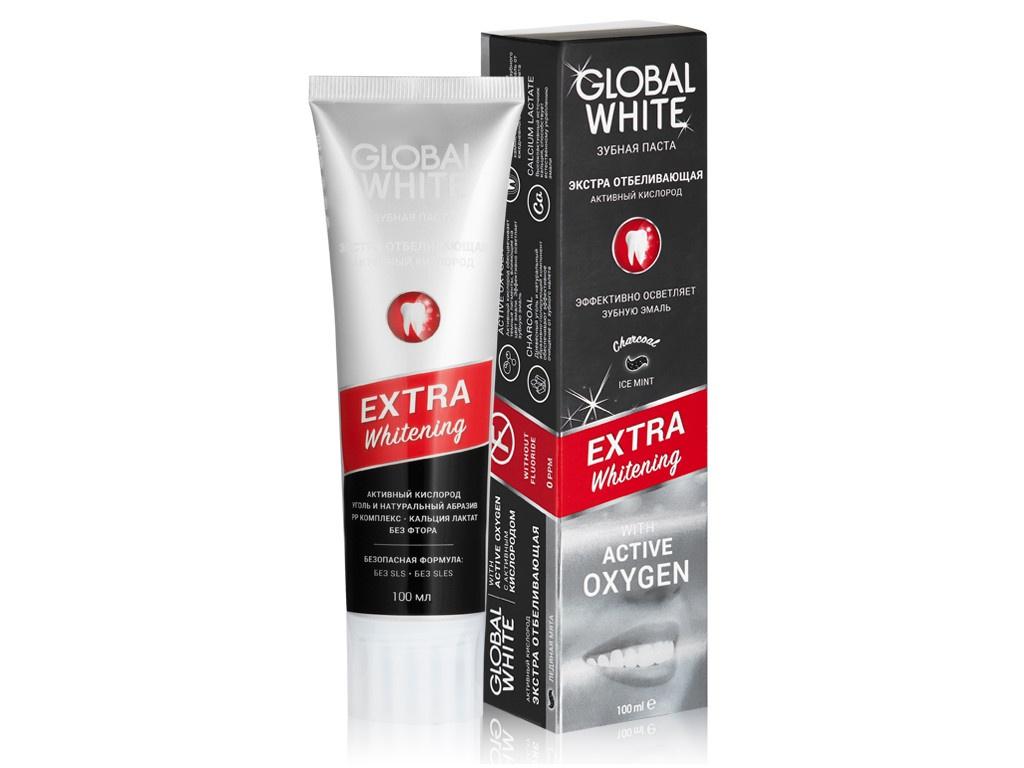 Купить Зубная паста Global White Extra Whitening 100г 4605370017953