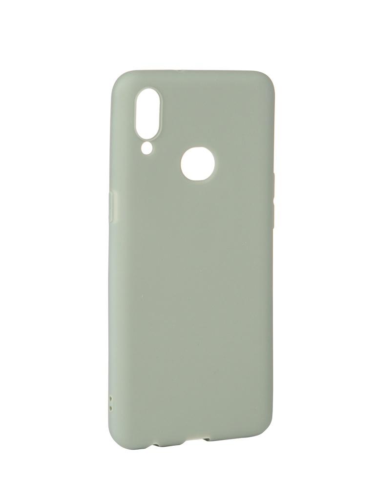 Купить Аксессуар Чехол Zibelino для Samsung Galaxy A10S A107 2019 Soft Matte Green ZSM-SAM-A10S-GRN