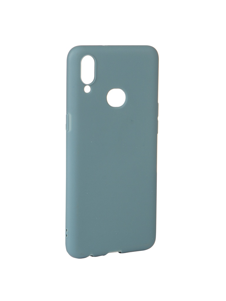 Купить Аксессуар Чехол Zibelino для Samsung Galaxy A10S A107 2019 Soft Matte Azure ZSM-SAM-A10S-AZU