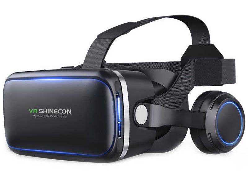 Фото - Очки виртуальной реальности Veila VR Shinecon с наушниками 3383 очки виртуальной реальности smarterra vr