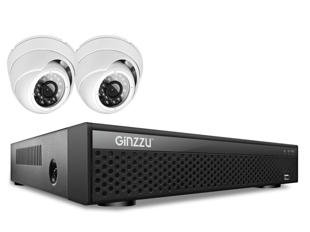 Комплект видеонаблюдения Ginzzu HK-429D